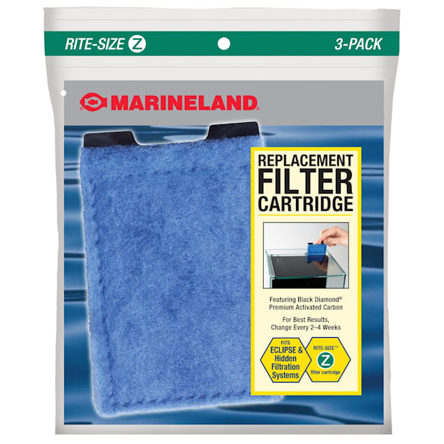 Marineland Eclipse Ready-To-Use Filter Cartridges for System 3 and Eclipse Explorer - Carousel image #1