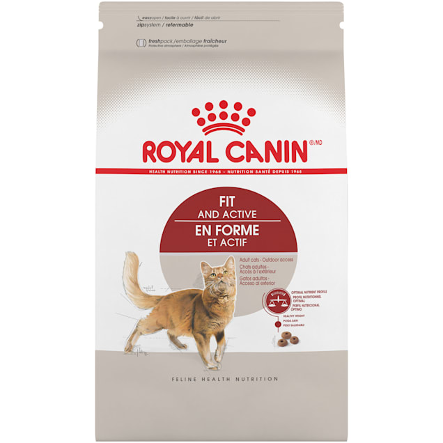 Royal Canin Feline Health Nutrition Fit And Active Dry Adult Cat Food, 15 lbs. - Carousel image #1