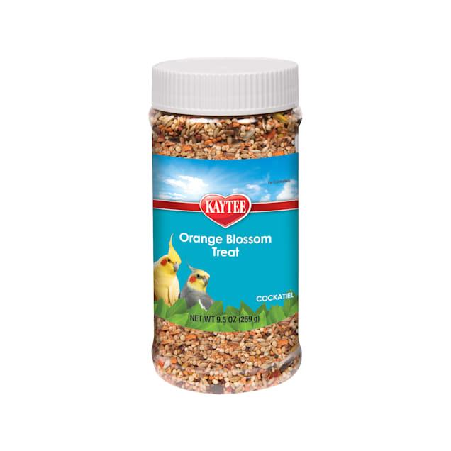 Kaytee Orange Blossom Honey Treat Jar for Cockatiel, 9.5 oz. - Carousel image #1