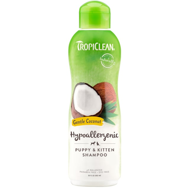 TropiClean Hypo-Allergenic Shampoo for Puppies - Carousel image #1