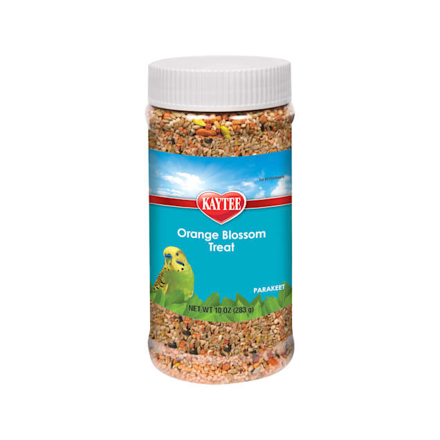 Kaytee Orange Blossom Honey Treat Jar for Parakeet, 10 oz. - Carousel image #1