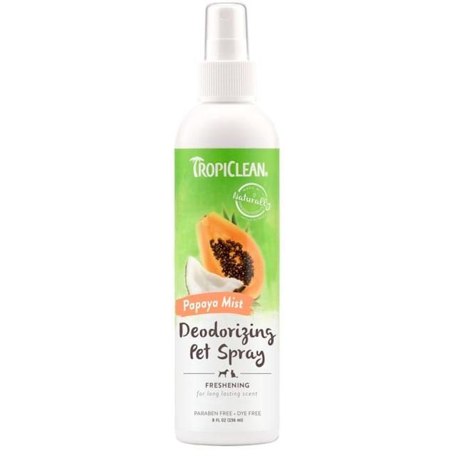 TropiClean Papaya Mist Deodorizing Spray for Pets, 8 fl. oz. - Carousel image #1
