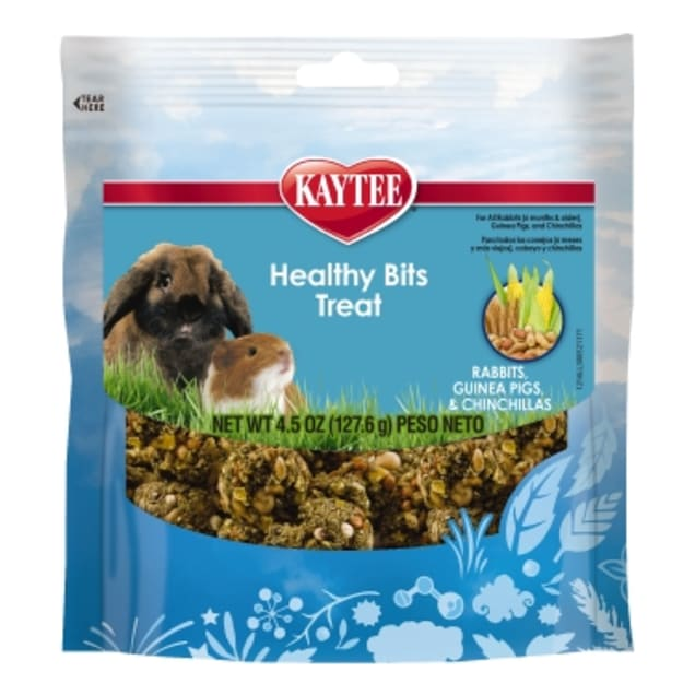 Kaytee Forti-Diet Pro Health Healthy Bits Rabbit, Guinea Pig and Chinchilla Treat - Carousel image #1