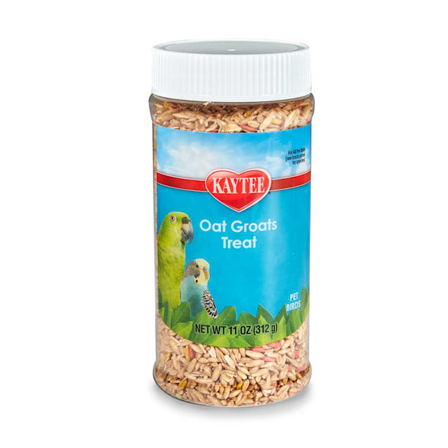 Kaytee Oat Groats Treat Jar for Pet Birds, 11 oz. - Carousel image #1