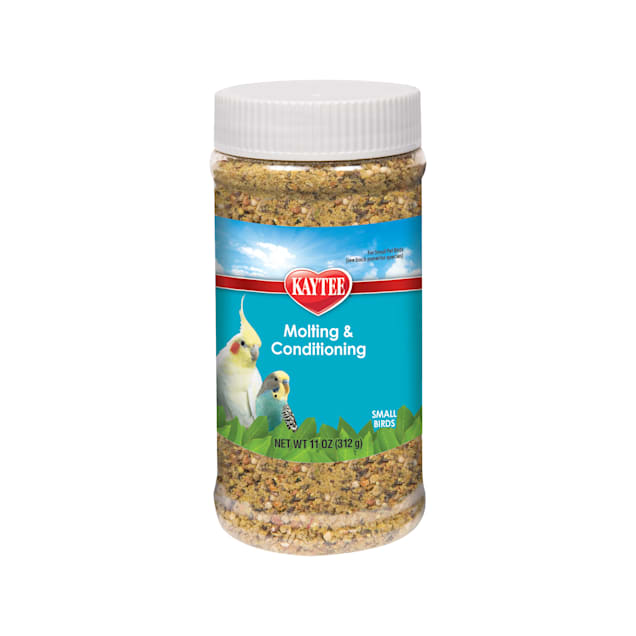 Kaytee Molting and Conditioning Jar for Small Pet Birds, 11 oz. - Carousel image #1