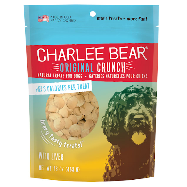 Charlee Bear Dog Treats with Liver - Carousel image #1