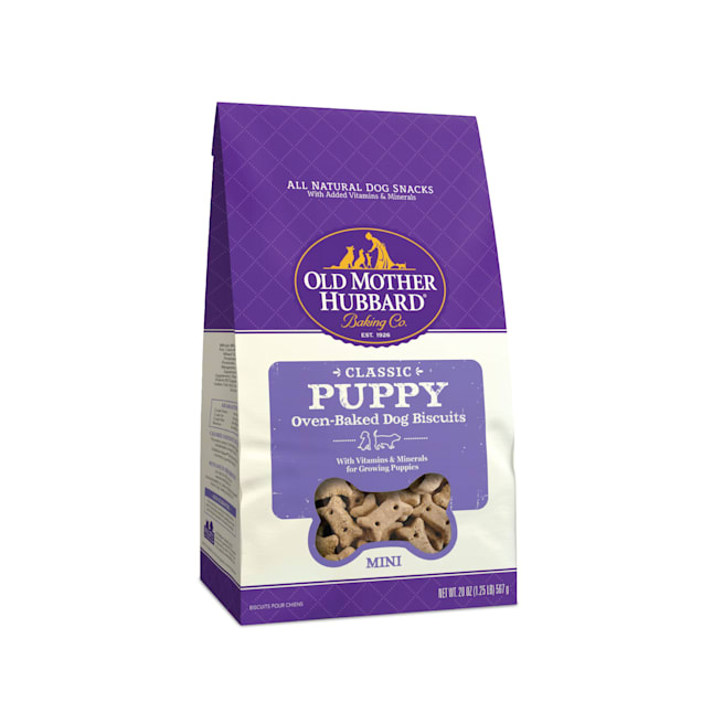 Old Mother Hubbard Crunchy Classic Natural Puppy Mini Dog Treats, 20 oz - Carousel image #1