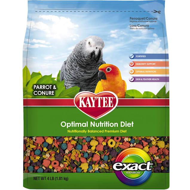 Kaytee Exact Rainbow for Parrots & Conures, 4 lb. - Carousel image #1