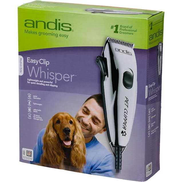 Andis Easy Clip Whisper Clipper Kit for Dogs - Carousel image #1