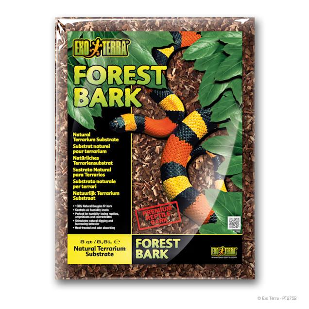 Exo-Terra Forest Bark Terrarium Substrate, 8 Quart - Carousel image #1