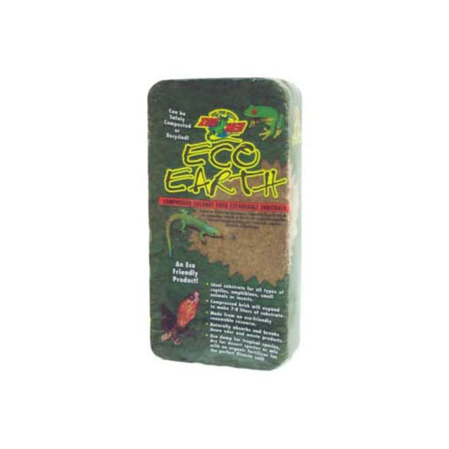 Zoo Med Eco Earth Compressed Coconut Fiber Expandable Substrate - Carousel image #1