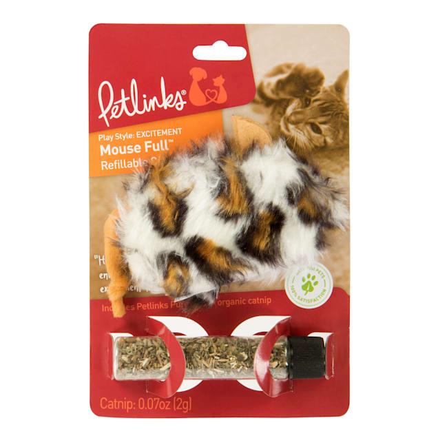 Petlinks Mousefull Refillable Catnip Toy - Carousel image #1