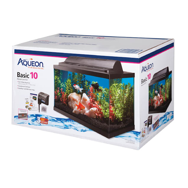 Aqueon Standard Glass Aquarium Tank 10 Gallon $9.99