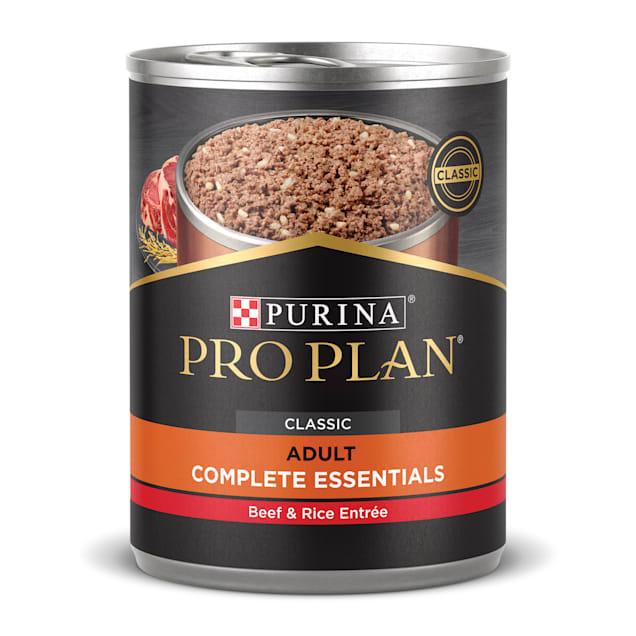 Purina Pro Plan Pate SAVOR Classic Beef & Rice Entree Wet Dog Food, 13 oz., Case of 12 - Carousel image #1