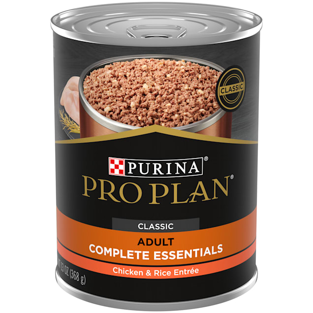 Purina Pro Plan Pate SAVOR Classic Chicken & Rice Entree Wet Dog Food, 13 oz., Case of 12 - Carousel image #1
