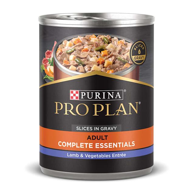 Purina Pro Plan Gravy SAVOR Lamb & Vegetables Entree Wet Dog Food, 13 oz., Case of 12 - Carousel image #1
