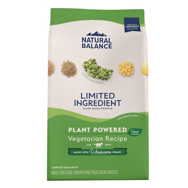 Natural Balance Vegetarian Formula Dry Dog Food, 28 lbs. - Carousel image #1