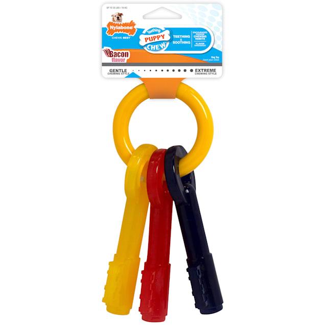 Nylabone Puppy Teething Key Chew Toys for Dog, Large - Carousel image #1