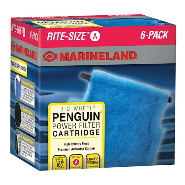Marineland Rite-Size Bonded Filter Sleeve for Penguin 100, Pack of 6 - Carousel image #1