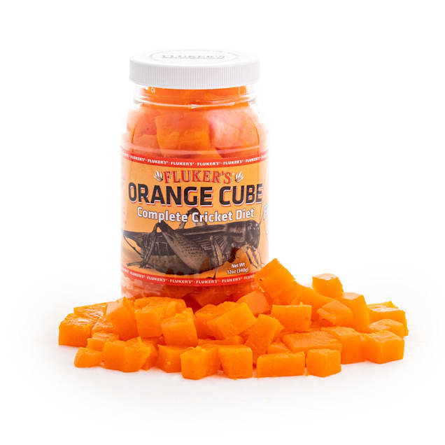 Fluker's Orange Cube Complete Cricket Diet - Carousel image #1