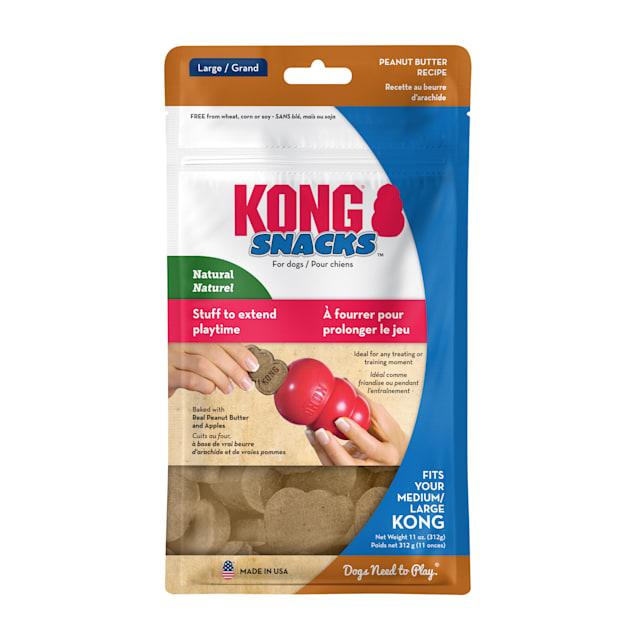 KONG Stuff'N Peanut Butter Dog Treats, Large, 11 oz. - Carousel image #1
