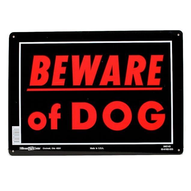 Hillman Sign Center- Beware of Dog - Carousel image #1