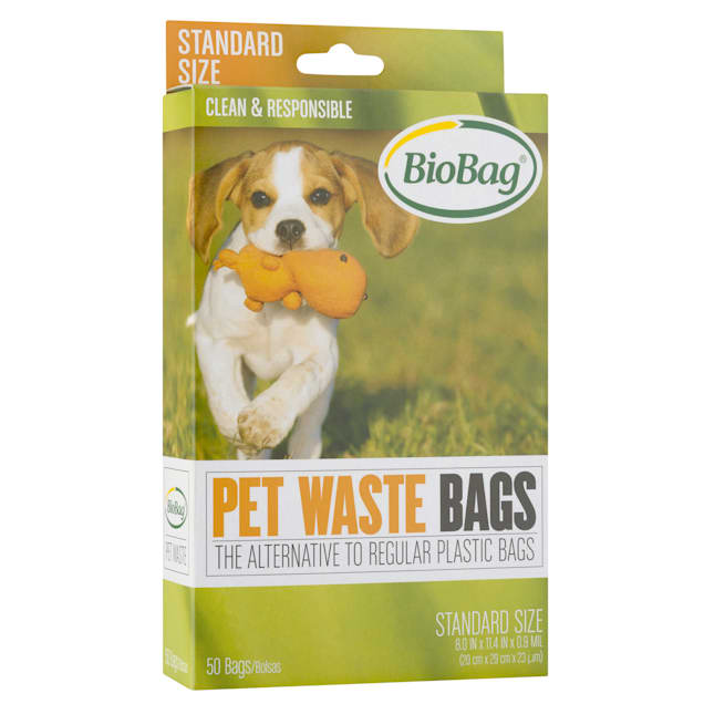 BioBag USA Standard Pet Waste Bags, 50 Count - Carousel image #1