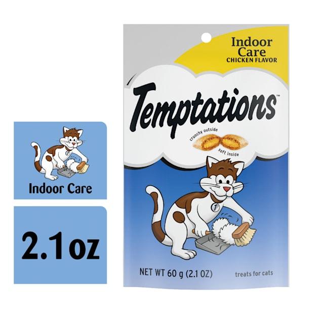 Temptations Essentials Hairball Control Chicken Flavor Cat Treats, 2.1 oz. - Carousel image #1