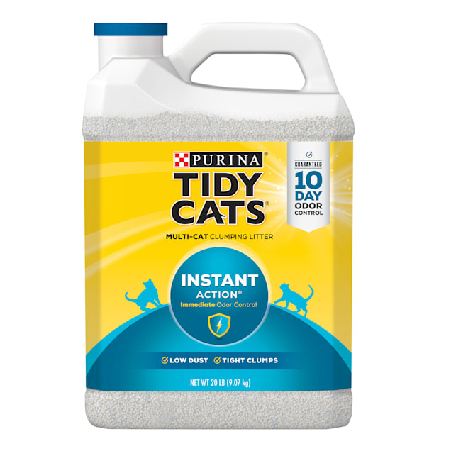 Purina Tidy Cats Clumping Instant Action Multi Cat Litter, 20 lbs. - Carousel image #1