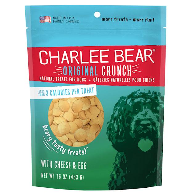 Charlee Bear Dog Treats with Cheese & Egg - Carousel image #1
