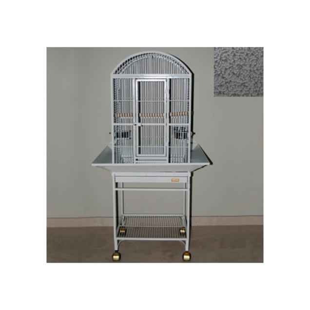 Avian Adventures Nina Dometop Bird Cage in Platinum - Carousel image #1