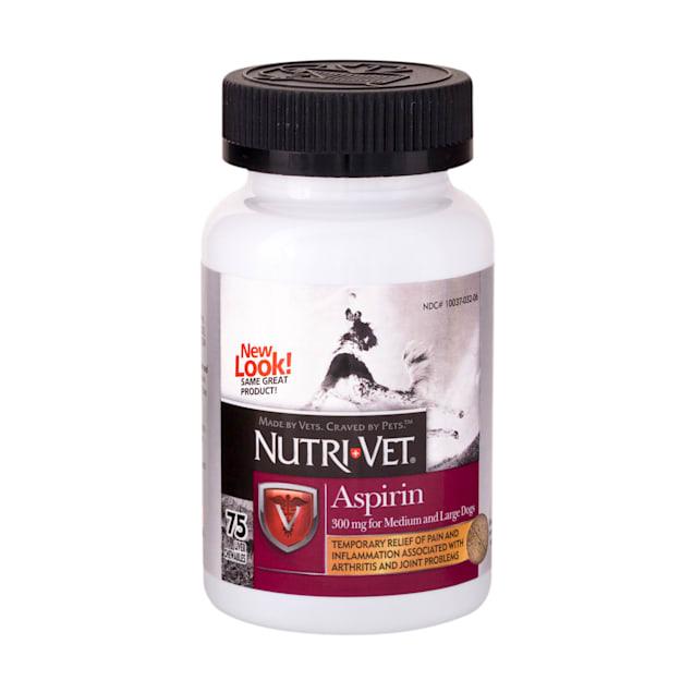 Nutri-Vet Nutritionals K-9 Aspirin for Medium & Large Dogs - Carousel image #1