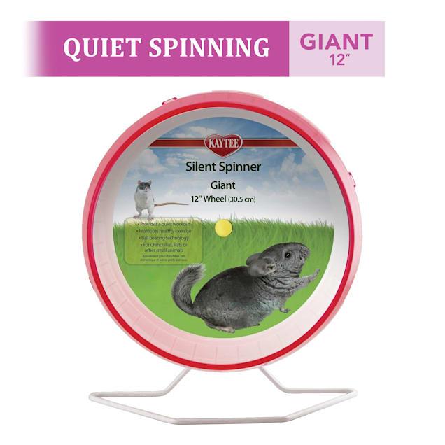 Kaytee Silent Spinner Assorted Exercise Wheel, Giant - Carousel image #1