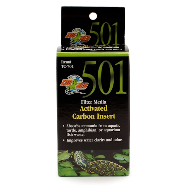 Zoo Med 501 Filter Media Activated Carbon Insert - Carousel image #1