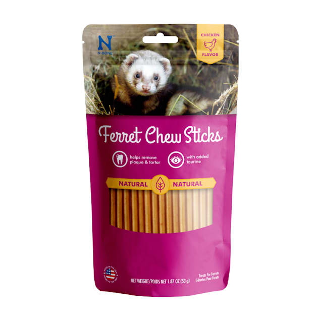 N-Bone Ferret Chicken Chew Treats, 1.87 oz. - Carousel image #1