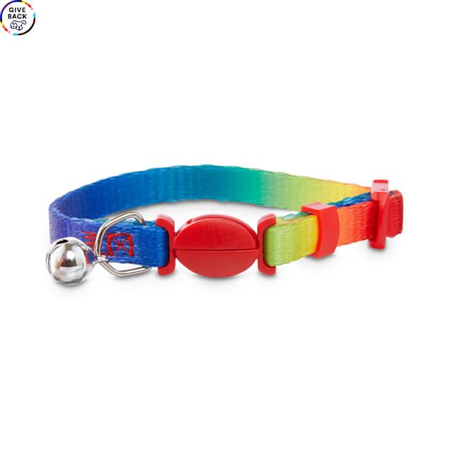 Bond & Co. Rainbow-Print Kitten Collar - Carousel image #1