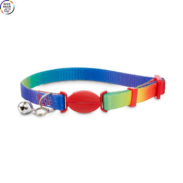Bond & Co. Rainbow-Print Cat Collar - Carousel image #1