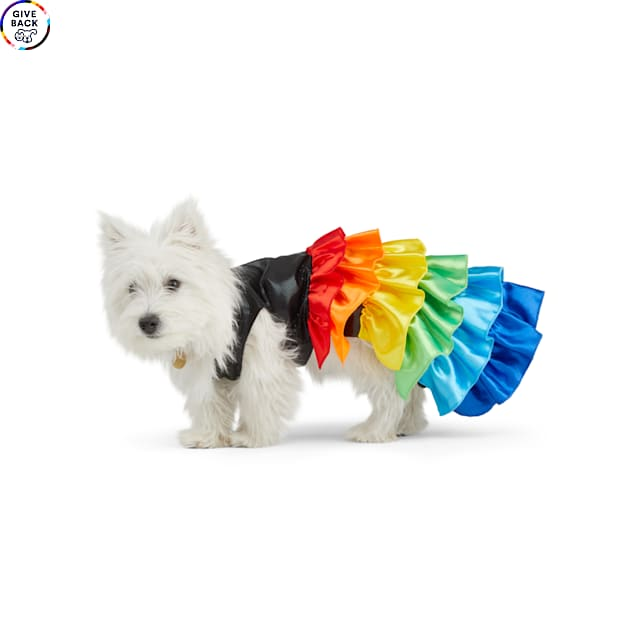 YOULY The Proudest Rainbow Dog Dress, X-Small - Carousel image #1