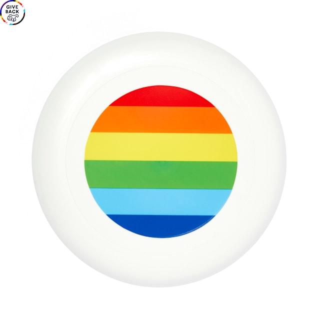 YOULY The Proudest Rainbow Flyer Dog Toy, Medium - Carousel image #1