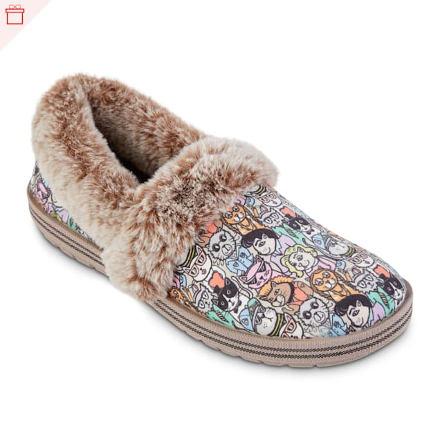 BOBS from Skechers Too Cozy Classic Cats of Ages Shoe, 9 - Carousel image #1