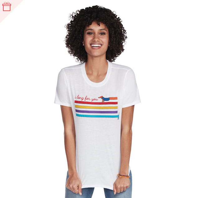BOBS from Skechers Long For You Women's T-Shirt, Small - Carousel image #1