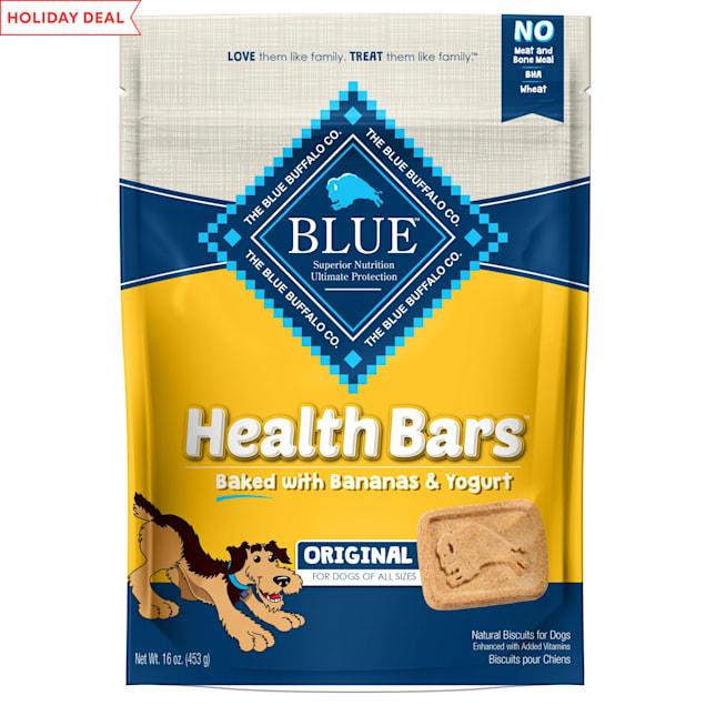 Blue Buffalo Blue Health Bars With Banana and Yogurt Dog Treats, 16 oz. - Carousel image #1
