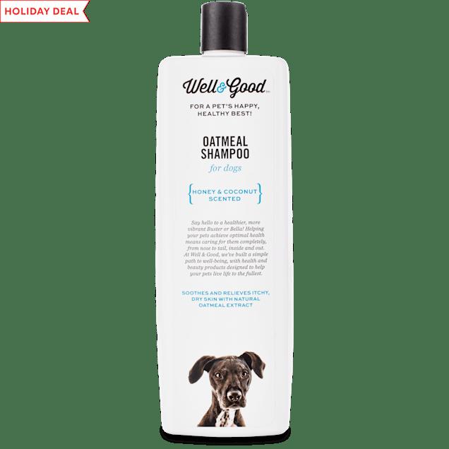 Well & Good Oatmeal Dog Shampoo, 32 fl. oz. - Carousel image #1