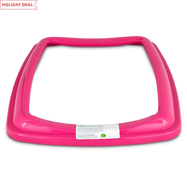 So Phresh Pink Large Open Litter Box Rim - Carousel image #1