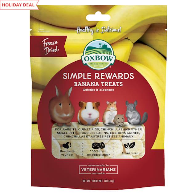 Oxbow Simple Rewards Banana Small Animal Treats, 1 oz. - Carousel image #1