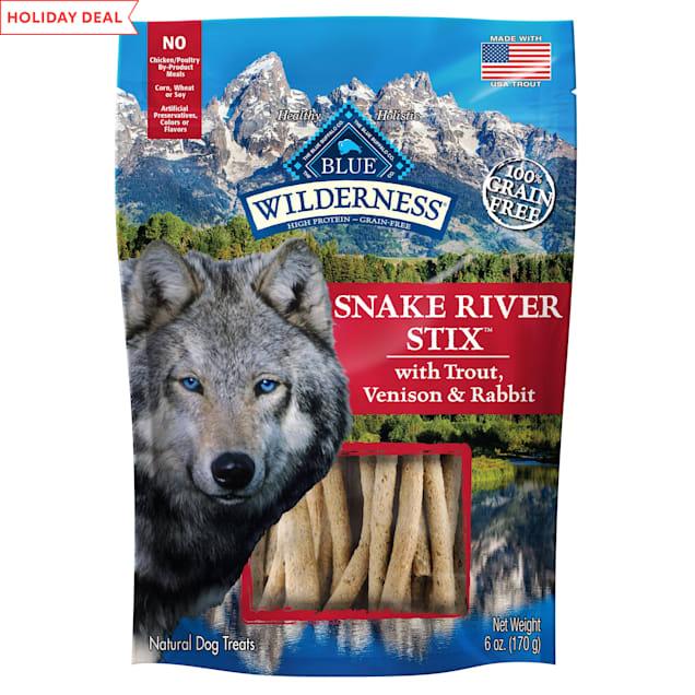 Blue Buffalo Blue Wilderness Snake River Grill Stix Dog Treats, 6 oz. - Carousel image #1
