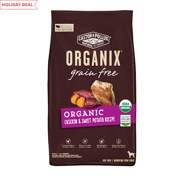 Castor & Pollux Organix Grain Free Organic Chicken & Sweet Potato Recipe Dry Dog Food, 18 lbs. - Carousel image #1