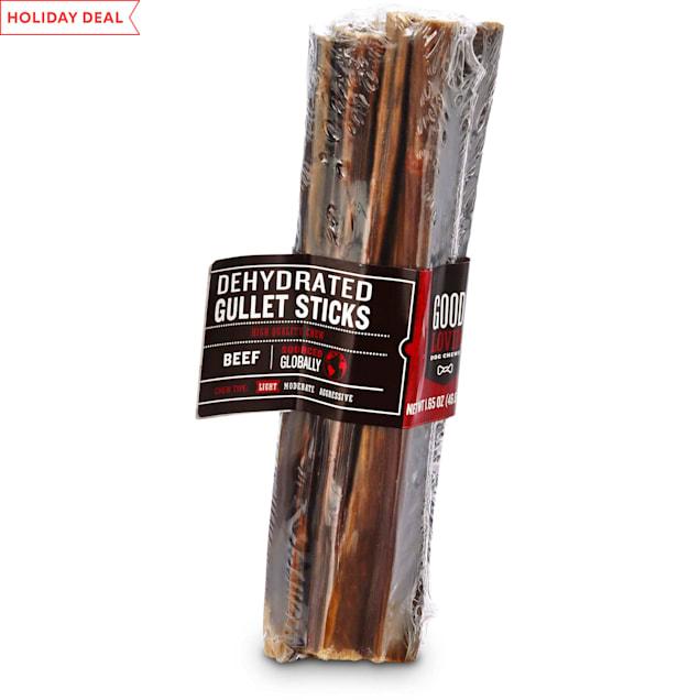 Good Lovin' Dehydrated Gullet Stick Dog Chews, 1.65 oz. - Carousel image #1