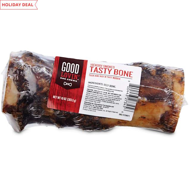 Good Lovin' Hickory Smoked Tasty Bone Dog Chew, 6-inch - Carousel image #1