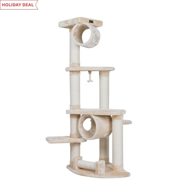 "Armarkat Classic Cat Tree Model A7463A Beige, 74"" H - Carousel image #1"